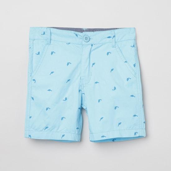 MAX Printed Regular Fit City Shorts