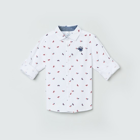 MAX Printed Full Sleeve Casual Shirt