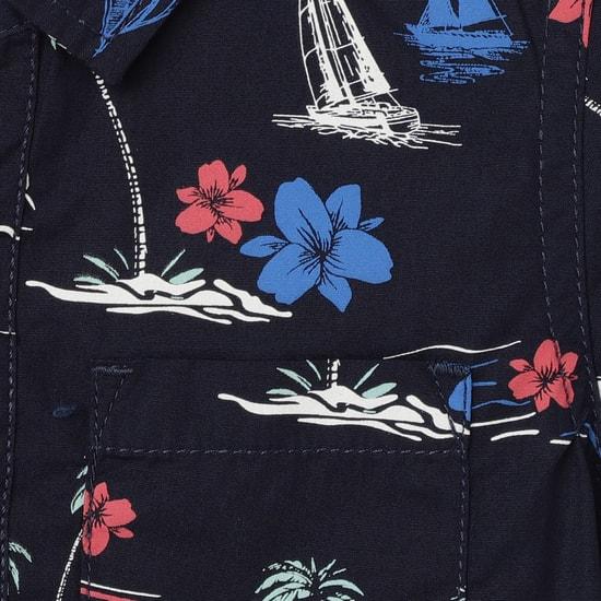 MAX Printed Half-Sleeve Shirt