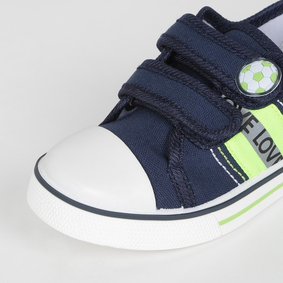 MAX Solid Veclro-Strap Casual Shoes