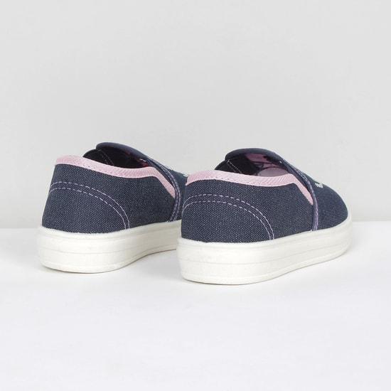 MAX Embellished Slip-On Canvas Shoes