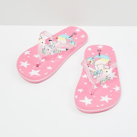 MAX Printed Slippers