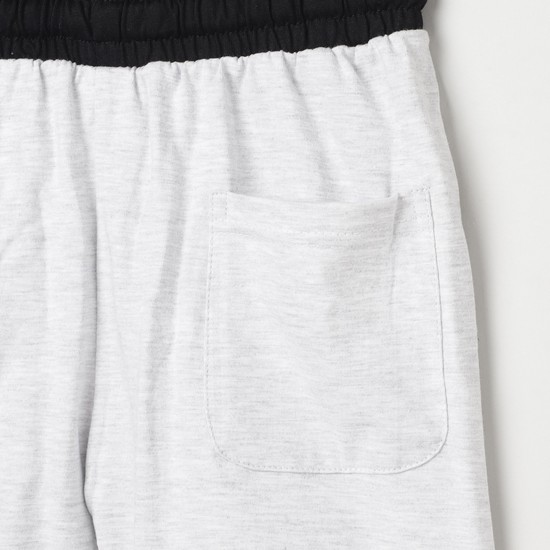 MAX Printed Knit Elasticated Shorts