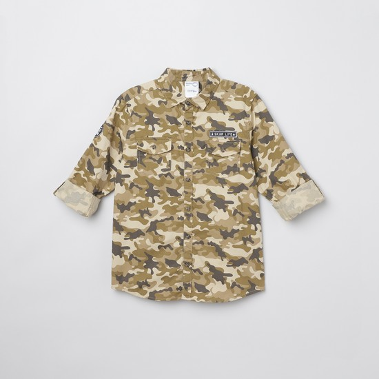 MAX Camouflage Print Shirt
