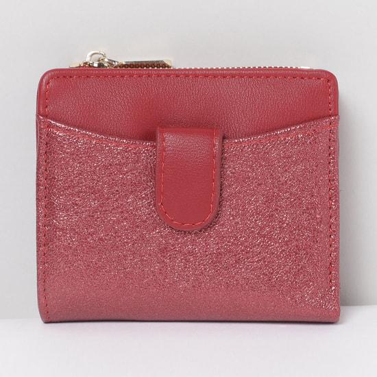 MAX Textured Zip-Closure Wallet