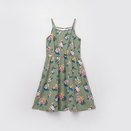 MAX Floral Print Camisole Dress
