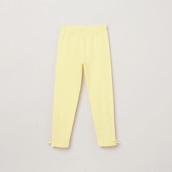 MAX Solid Knit Elasticated Leggings