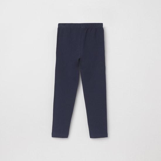 MAX Solid Full Length Elasticated Leggings