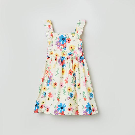 MAX Floral Print Sleeveless Dress