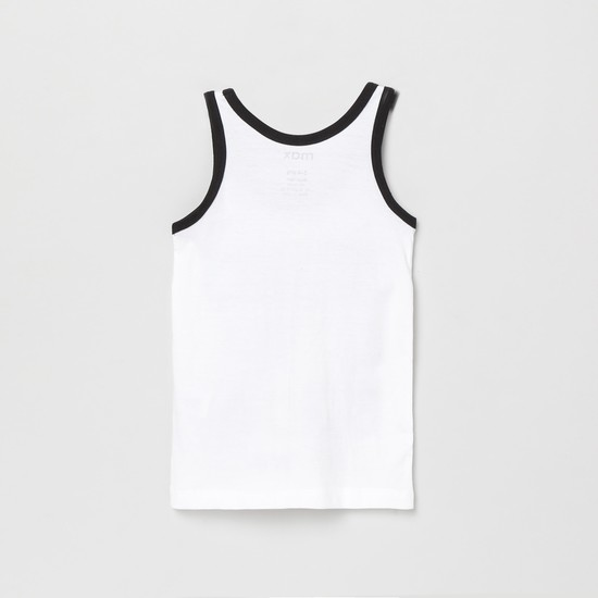 MAX Printed Sleeveless Vest- Pack of 2