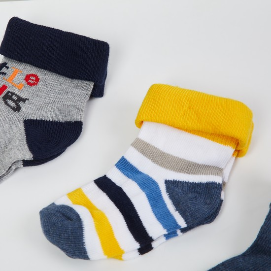 MAX Patterned Socks- Pack of 3