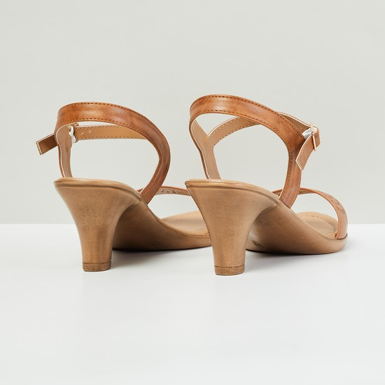 MAX Cut-Out Detail Cone Heels