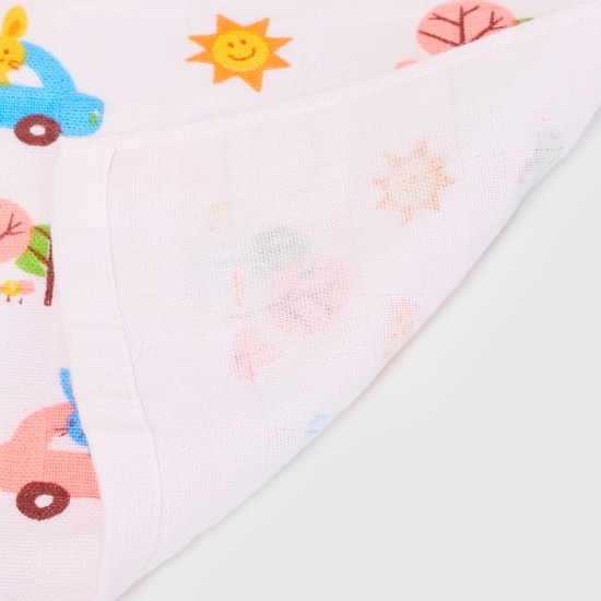 MAX Printed Handkerchief- Set of 4