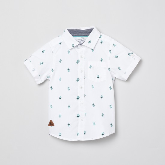 MAX Printed Regular Fit Shirt