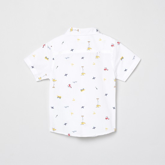 MAX Printed Regular Fit Casual Shirt