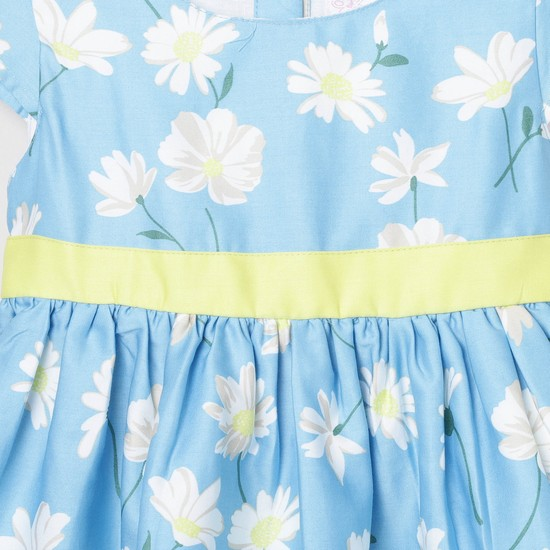 MAX Floral Printed A-Line Dress