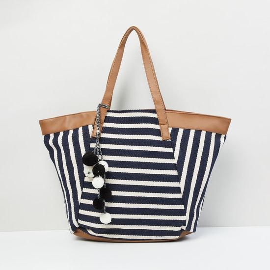 MAX Striped Shoulder Bag