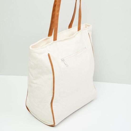 MAX Mickey Mouse Print Tote Bag