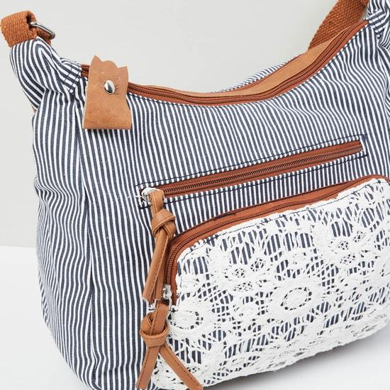 MAX Striped Sling Bag