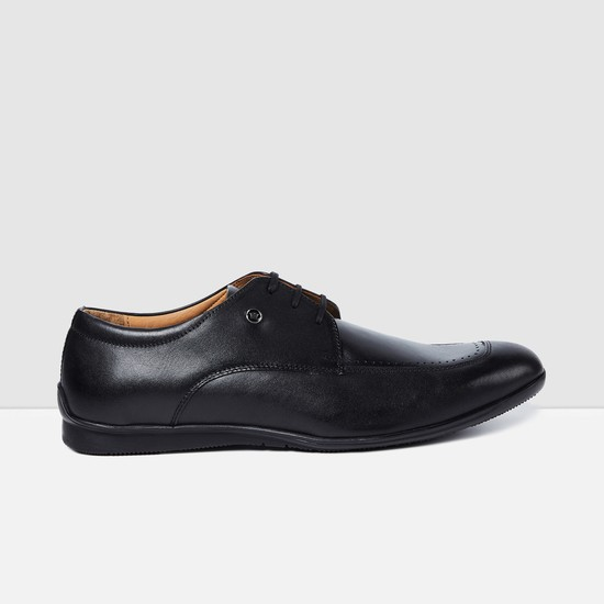 LOUIS PHILIPPE Genuine Leather Derby Shoes