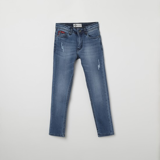 LEE COOPER JUNIORS Stonewashed Skinny Fit Jeans