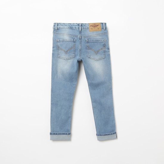 FLYING MACHINE Stonewashed Skinny Fit Jeans