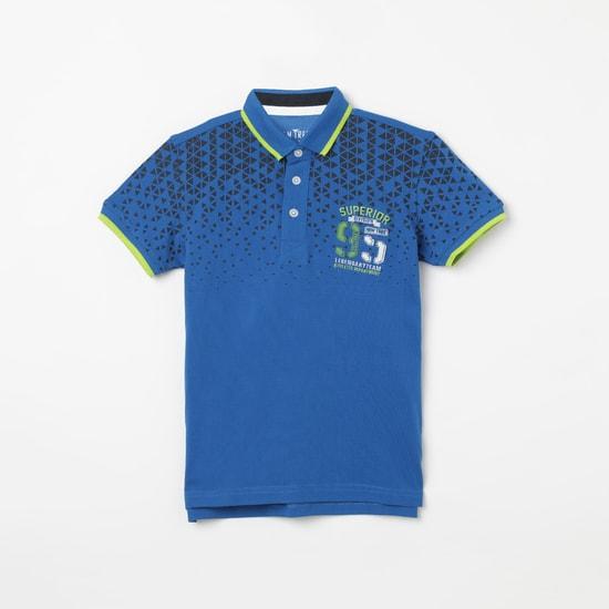 GINI & JONY Printed Polo T-shirt