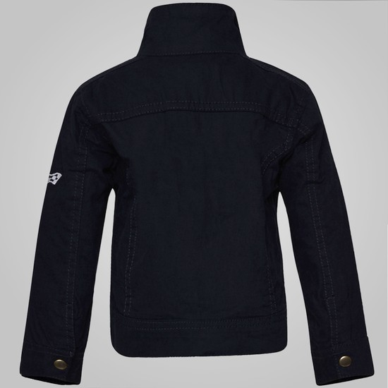 MAX Zip-Up Plain Jacket