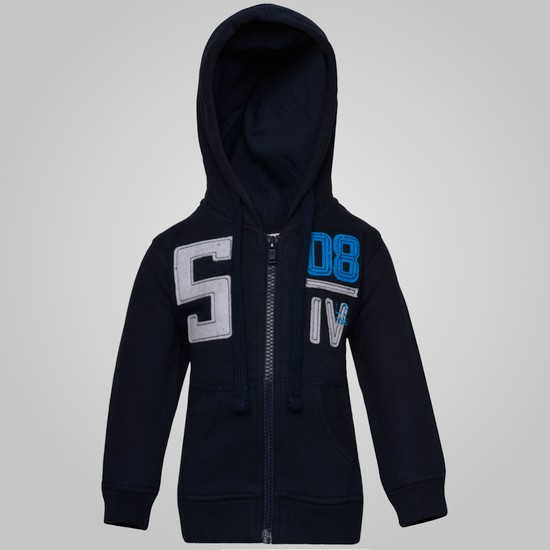 MAX Hooded Zip-Up Sweatshirt