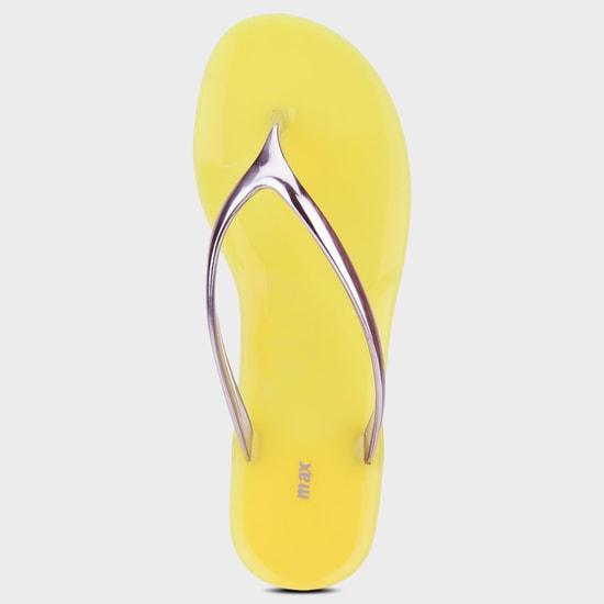 MAX Metallic Strap Flip-Flops