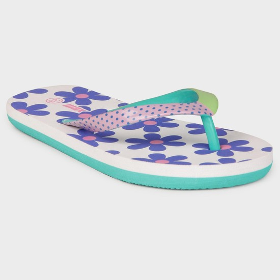 MAX Floral Print Slippers