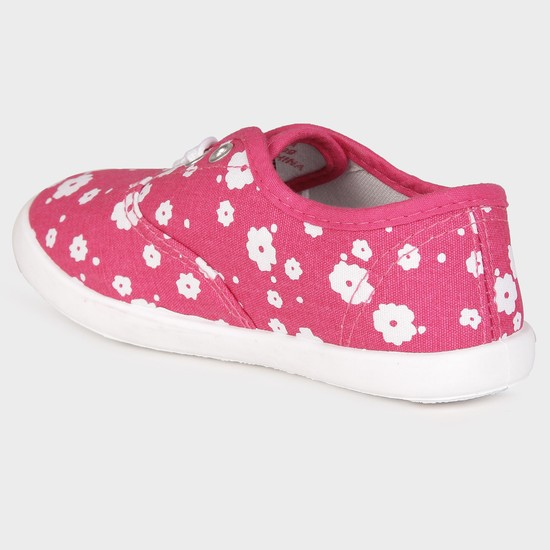 MAX Flower Print Canvas Shoes