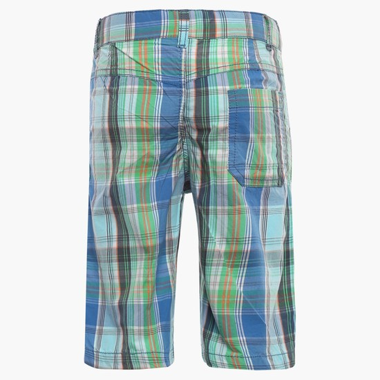 MAX Plaid Checks Shorts