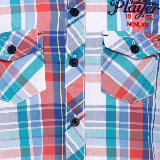 MAX Checks Printed Shirt
