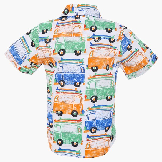 MAX Town Bus Printed Shirt