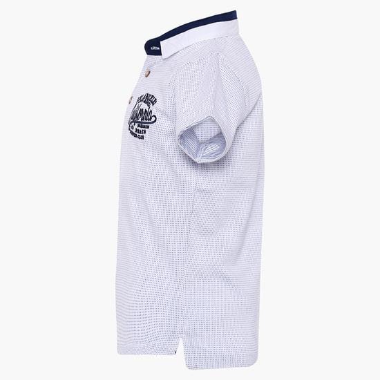 MAX Printed Polo Neck T-Shirt
