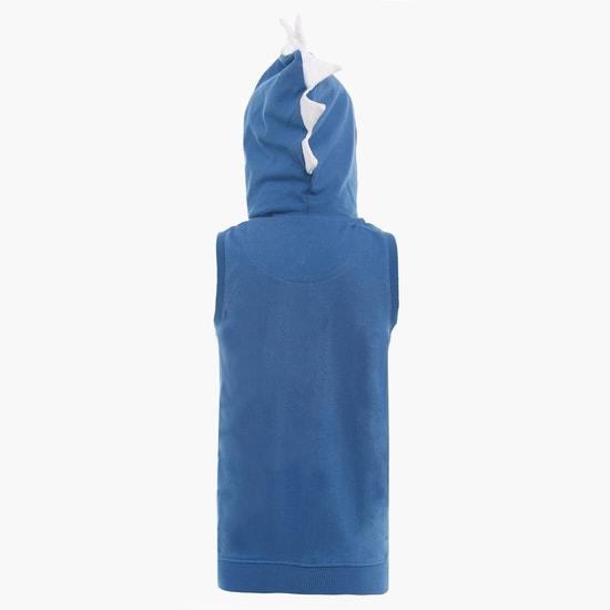 MAX Hooded Sleeveless Sweatshirt