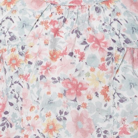 MAX Summer Floral Print Top
