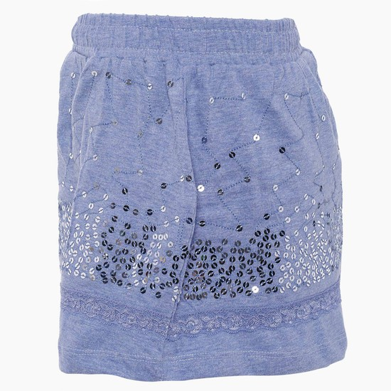 MAX Sequinned Skirt