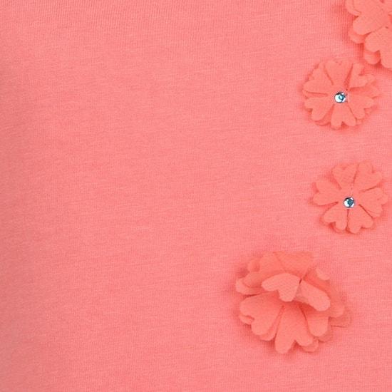 MAX Floral Applique Top