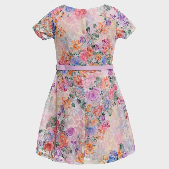 MAX Floral Affair Belted Dress