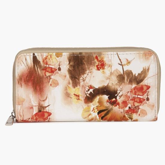 MAX Floral Print Wallet