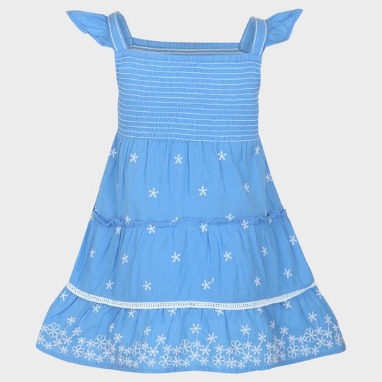 MAX Embroidered Cotton Dress