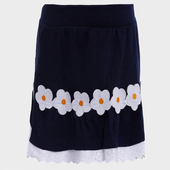 MAX Floral Fling Skirt