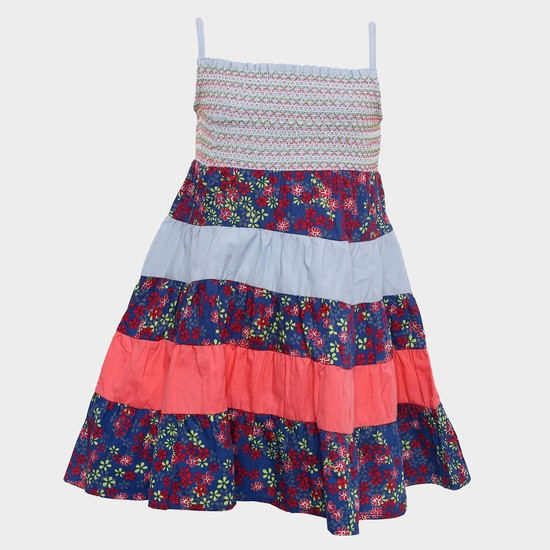 MAX Strappy Tiered Dress