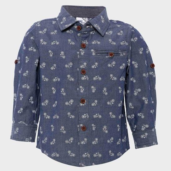 MAX Cycle Print Full Sleeves Shirt