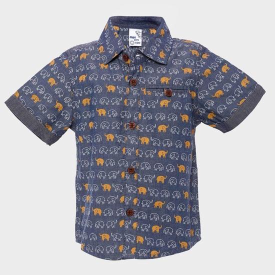 MAX Elephant Print Shirt
