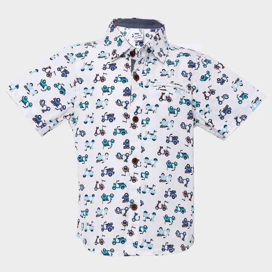 MAX Scooter Rush Printed Shirt