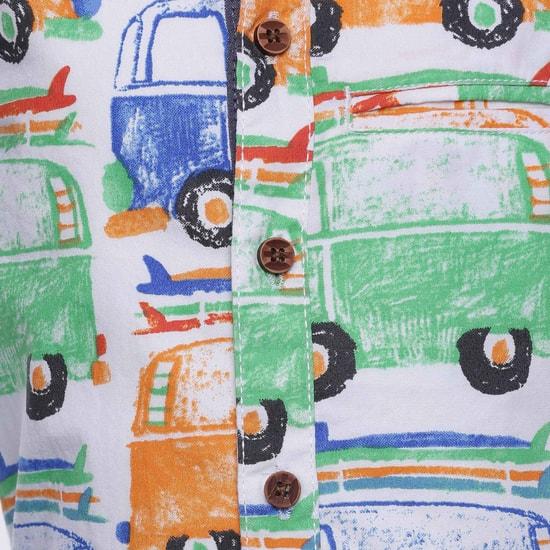 MAX Bus Print Short Sleeves Shirt