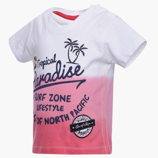 MAX Ombre Graphic Print T-Shirt